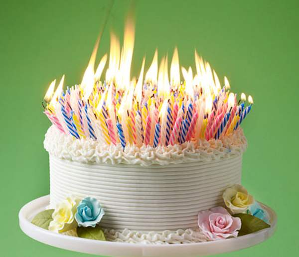 Picture Of A Birthday Cake With Lots Of Candles Clarity Wealth